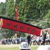中島町の「お熊甲祭」で「島田くずし」を撮りたい