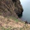 濃昼岬右岸へ崖降り釣行