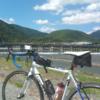 淀川CR→桂川CRと進んで京都嵐山「渡月橋」まで行って来た(往復100kmくらい)