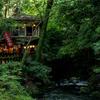 山の茶屋や茶店の雰囲気に心惹かれる。