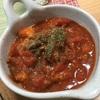 鯖とトマト。