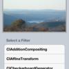 CIFilter の効果を一通り試せるサンプルコード(フィルタ名一覧つき)