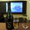 JALファーストクラス SALON シャンパン飲み比べ??? 2017シドニー・ニュージーランドその3