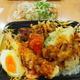 海老と季節野菜のお月見天重(雪国まいたけ)