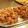 【週末台湾】台北寧夏夜市で食べる鉄板焼「香連鐵板料理」