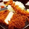とんかつ いなば和幸@大井町店(厚切りロースかつ海老フライ定食)