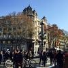 2016.12バルセロナひとり旅②旧市街