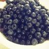 手作りブルーベリージャム Home-made blueberry jam