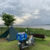 大洗町「夕日の郷 松川」で水辺キャンプ