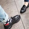 黒靴対決!!フルブローグとローファー