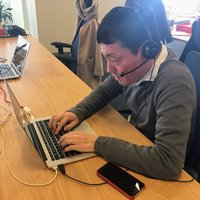 お客さま対応の最前線!「電話対応」を役員&社員で体験しました  #メルカリな日々 2018/1/23