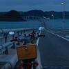 角島の朝陽にギリギリ