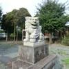 沖新町綿津見神社の狛犬