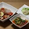 <一食で野菜 545g!> 鯛の切り身のアクアパッツア ラム肉のトマト煮込みなど