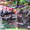 【古生物玩具】アニア「ティラノサウルスコレクション」