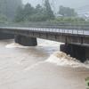 台風10号を迎えた今日の北川村。