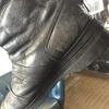 バイク用ブーツのオールソール( ^ω^ )