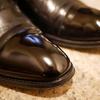 リーガルのガラス靴を磨く!