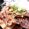 肉丼専門店の肉丼を食べた