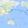 【旅行準備】世界一周ルートを決める3