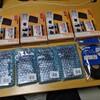タカチのケースに両面テープで貼り付けたPCI変換基板の固着を確認