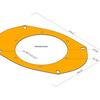【EK3 シビック】レストア計画:純正楕円リアスピーカーから丸型に交換方法②