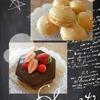 お菓子サークル「シューサロン」一周年O(≧∇≦)O  スフレチーズケーキとマカロン、チョコレートムースケーキ♪♪