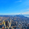 【これがニューヨークの夜景2】エンパイアステートビルのNYのマンハッタンの眺望!!
