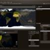 衛星の位置と軌道を表示するプログラムJSatTrak