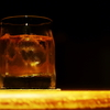 寝酒のバーボン