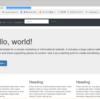 Python-Flask-bootstrapでホームページを作ってherokuにデプロイする方法