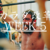 カラダ改革: Week5