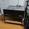 溶接初心者だけど溶接でレーザーカッターfabool CO2の台を作った