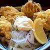 タル鶏天ぶっかけ 「丸亀製麺」