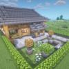 【マインクラフト#15】入母屋造りの和風のお家を建築してみた!
