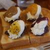 【コーヒーショップカコ花車本店】老舗喫茶店でいただく見た目も美しい小倉トースト