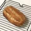 小麦胚芽パン、ササミ甘酢焼きとひよこ豆のトマトスープ