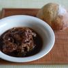 50冊目『一皿でごちそう!わたしの煮込み料理』から最終回は豚肉とプルーンの赤ワイン煮込み
