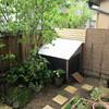 手作りガーデンフェンスで、庭をプライベートスペースに
