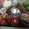 海鮮セットで豪華な手巻き寿司〜♪旦那さん実家からの海鮮セットの贈り物☆2☆(≧∇≦)