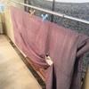 絹の着物、洗いました。
