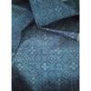 着物生地(315)蜀江に花・菱模様織り出し手織り真綿紬