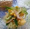 懐かしい味の春雨サラダ
