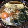 麺喰らう(その 22)ちくわ天そば+玉子
