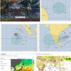 【台風情報】インド洋に(TC03S『ALCIDE』・TC04S『BOUCHRA』・TC07B『GAJA』)と3つの台風のたまごが存在!米軍・ヨーロッパ中期予報センターの進路予想では今のところ『越境台風』とはならず、台風27号とはならない見込み!