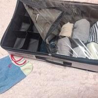 スリコの収納BOXは工夫が光る!靴下や下着の収納どうしよう問題は、これがあれば解決です