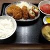 西川口の「あおき食堂」で射込みカツ、じゃがいもクリームコロッケ、魚肉ソーセージフライ定食を食べました★