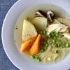 ヘルシーに作る!「鶏むね肉とお野菜たっぷりスープ」作り方・レシピ。