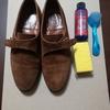 中古のジョンロブを丸洗いしてみた〜中古靴の丸洗い・スエード編〜