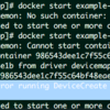 fedora docker起動エラー( Error running DeviceCreate (ActivateDevice) dm_task_run failed )